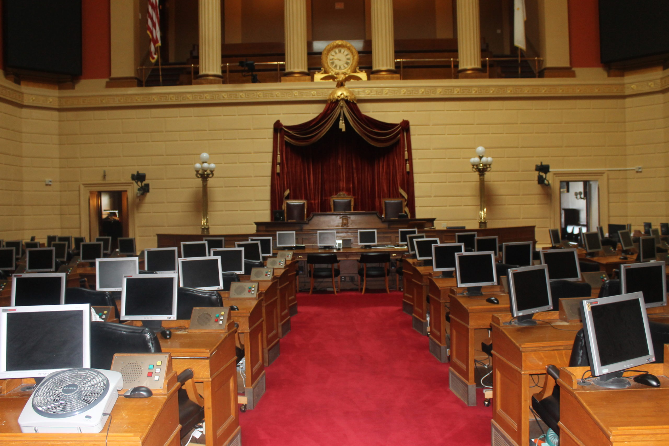 Racial slurs escalate on the Rhode Island General Assembly floor; no one knows who started it