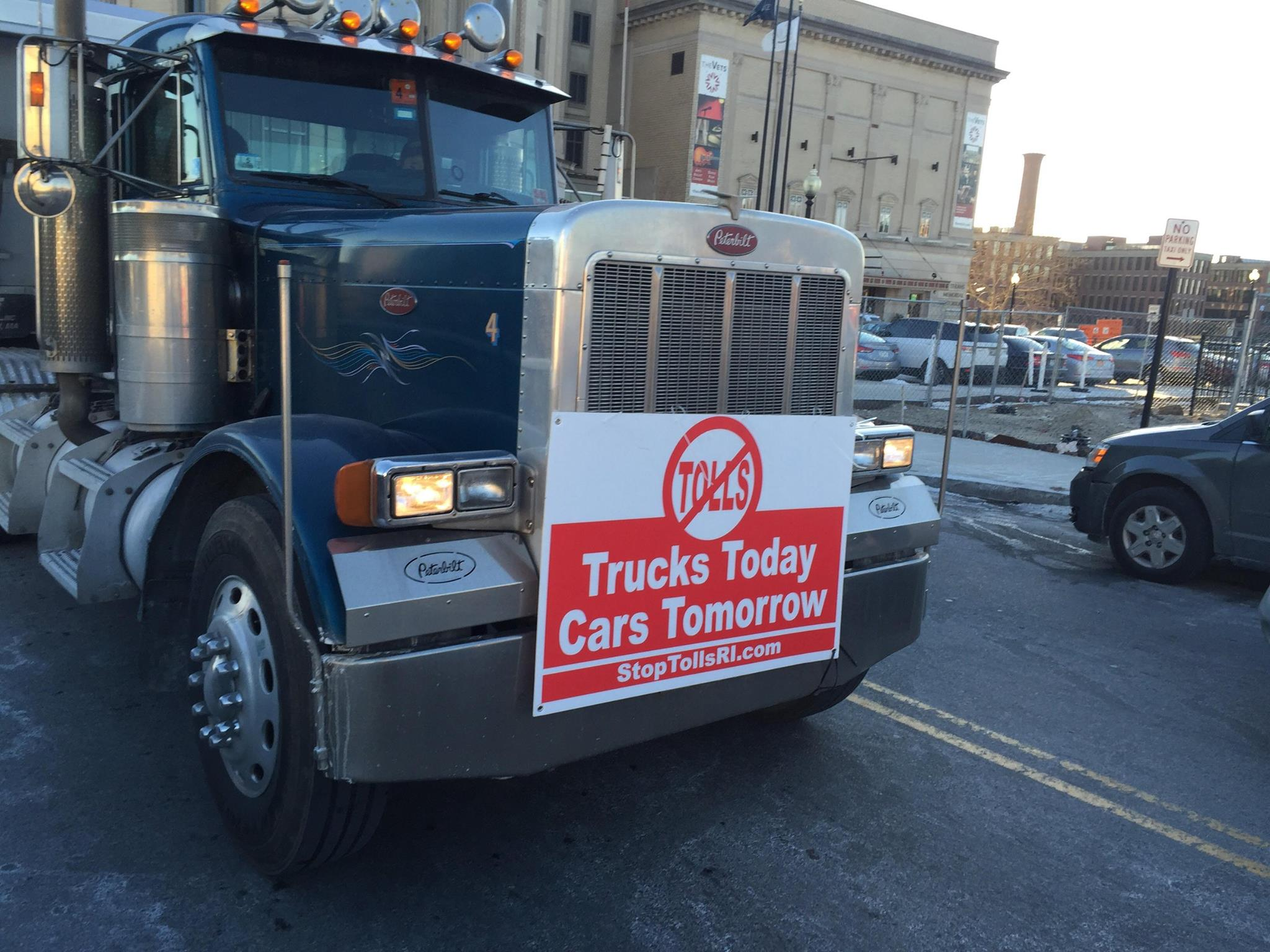 """Patricia Morgan:  """"They said that they had crunched the numbers and they were positive they were correct. They testified that their truck tolling scheme would hold up in court. They lied."""""""