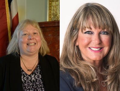 Little Nazis Carol Hagan McEntee of D-South Kingstown & Justine Caldwell, D-East Greenwich want your medical history public knowledge