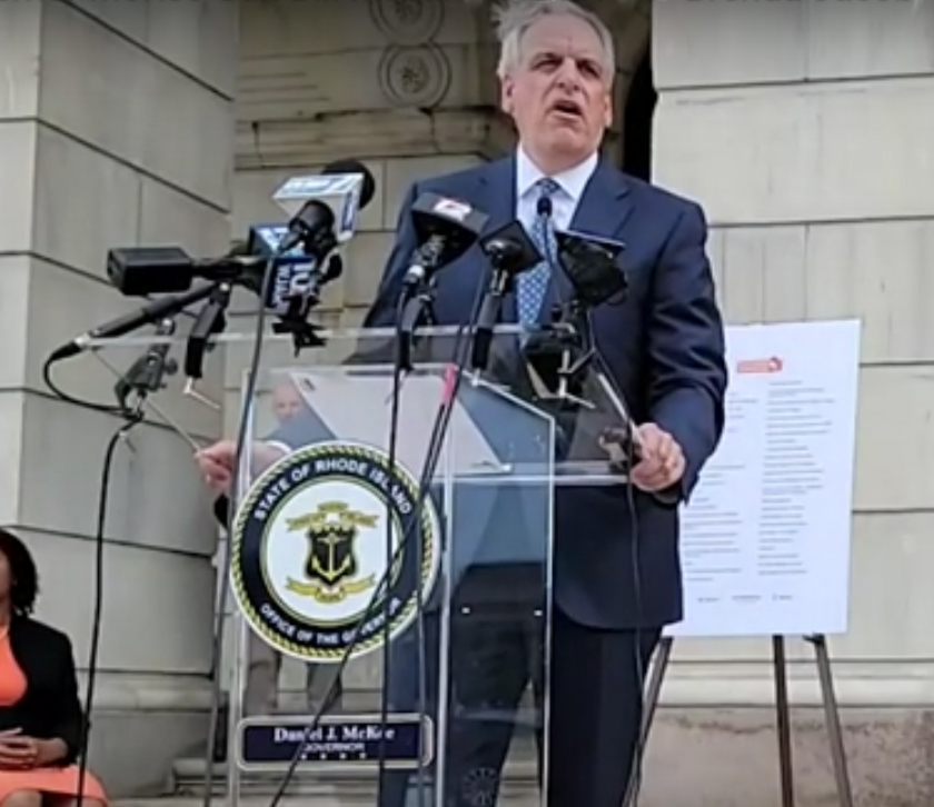 [Video] Watch while Rhode Island Attorney General Peter Neronha gets angry when reporter does his job by not toeing the party line [2:15]