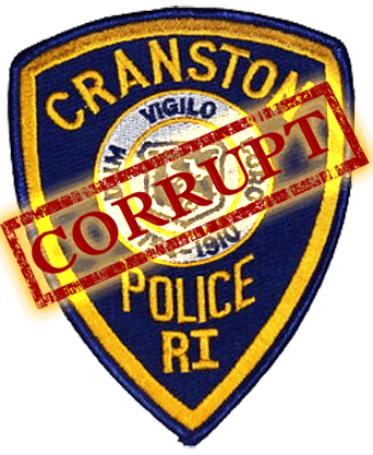 """"""". . . [L]ong-standing & flagrant violation of the law by the Cranston Police Department"""" – a traffic stop quota policy, requiring police officers to stop a minimum of 2 cars during their patrol shifts, racial profiling"""