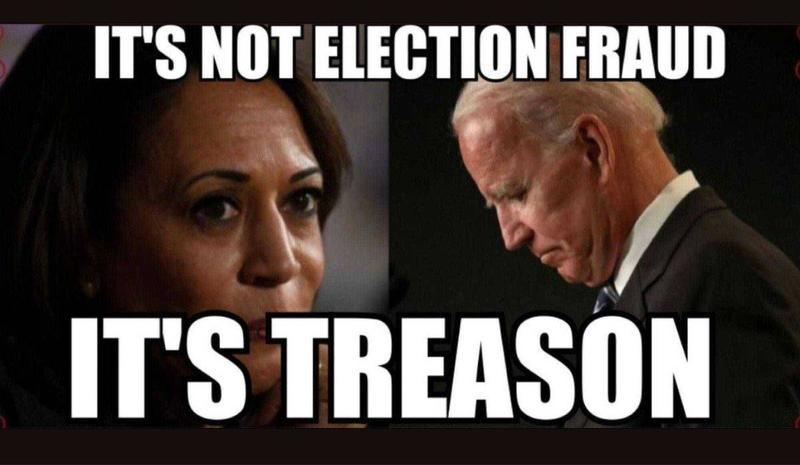 It's treason:
