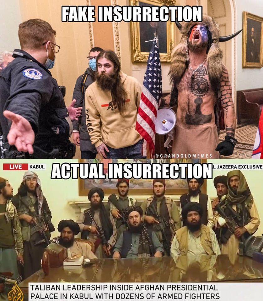 Fake Insurrection . . .