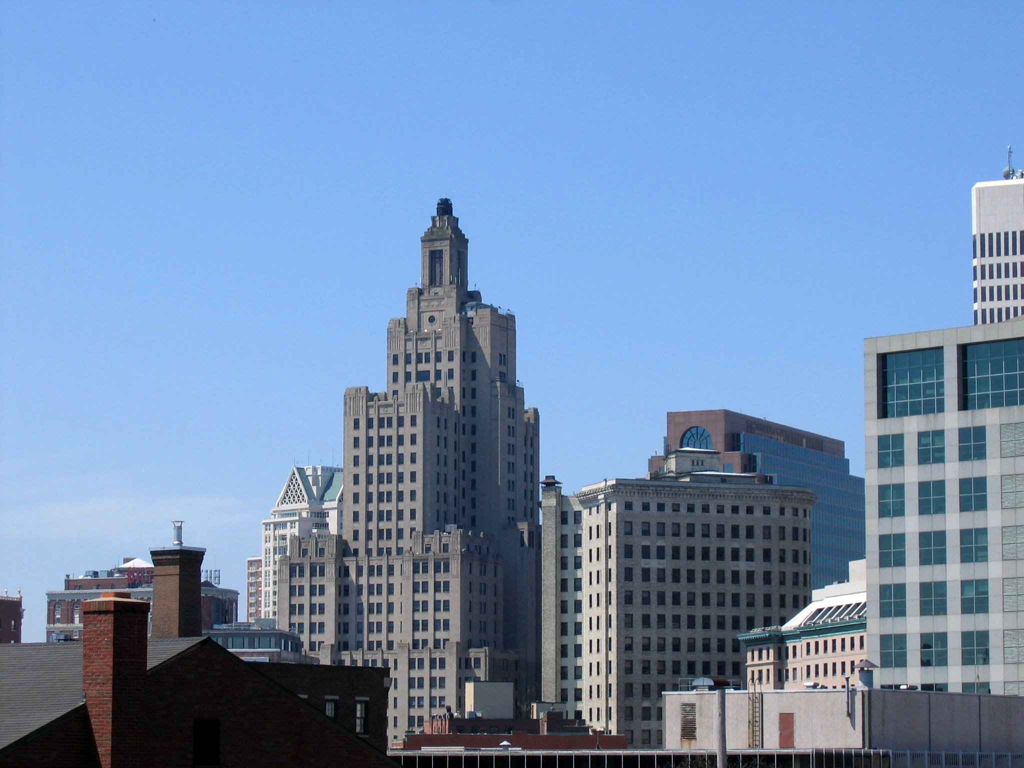 What can one do with a 'Superman Building' in Providence, RI?  Housing, of course, because no one would be stupid enough to create jobs & prosperity in the heart of a Democrat sewer.