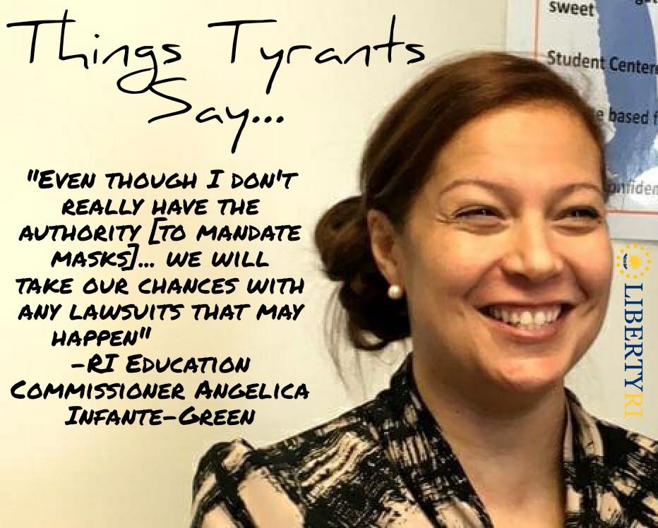 Things tyrants say . . . H/T John Fennessy