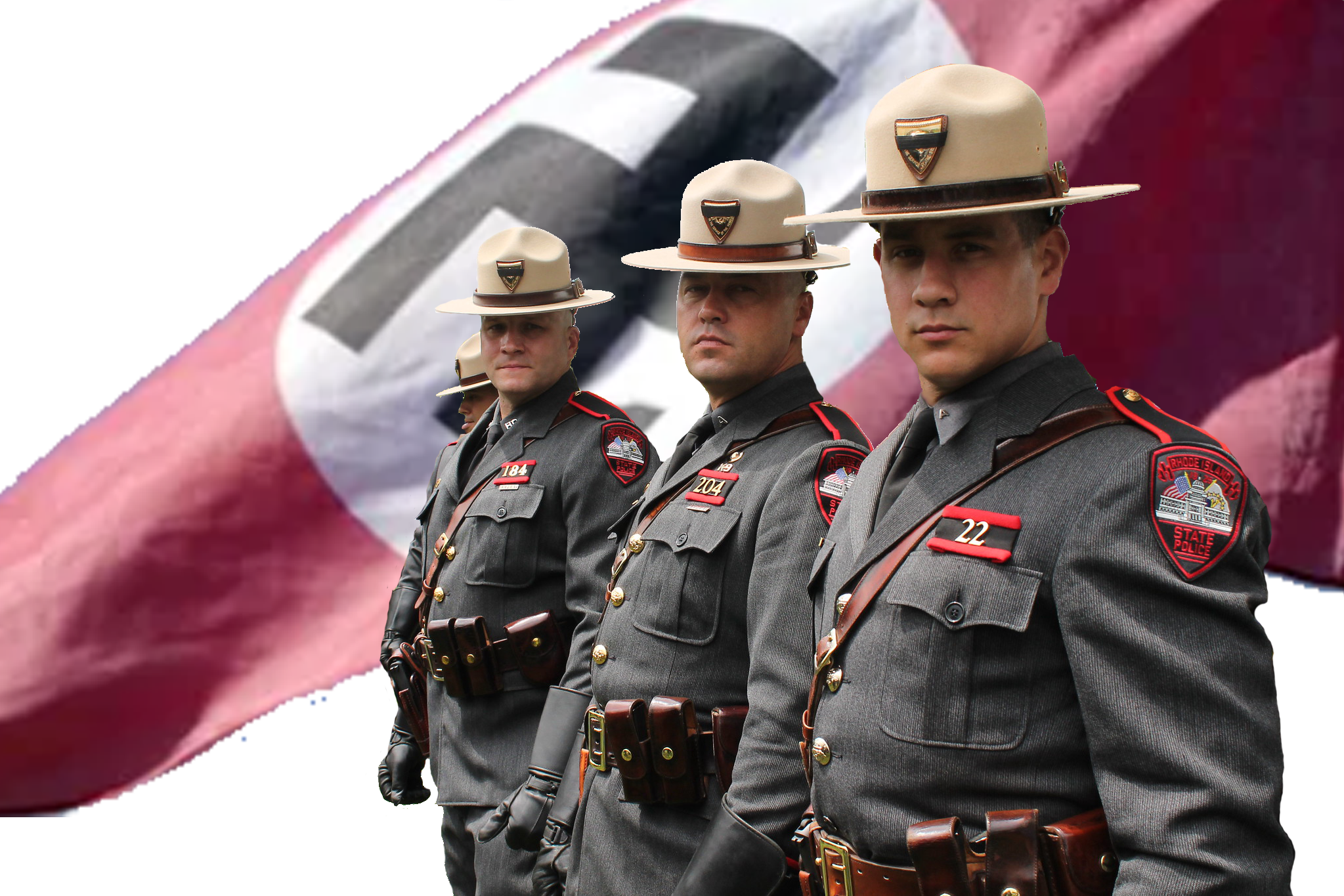 Anti-FORCED Vaccine protesters file complaint against the Pro-Marxist, Anti-American Rhode Island State Police
